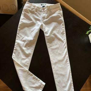 White House Black Market white jeans